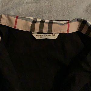 Women's long sleeve button up Burberry Top